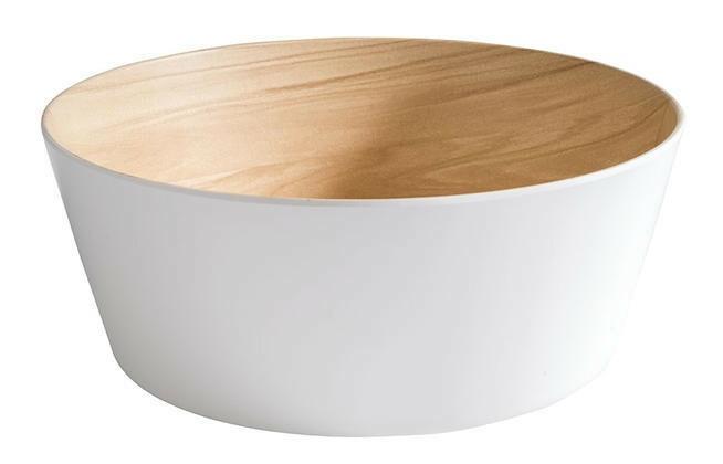 APS melamine Frida bowl Ø 26,5 x 10,5(h) cm wit