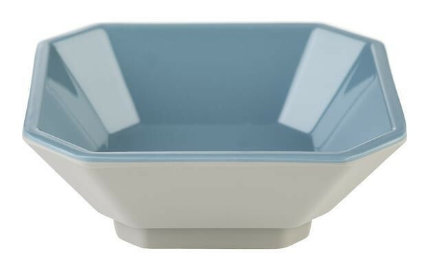 APS melamine Mini bowl 8 x 8 x 3(h) cm grijs/blauw