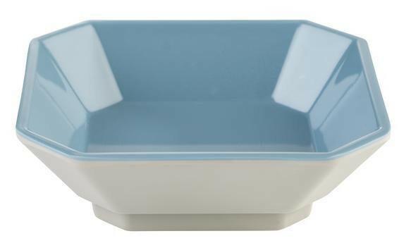 APS melamine Mini bowl 9,5 x 9,5 x 3(h) cm grijs/blauw