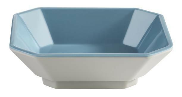 APS melamine Mini bowl 9,5 x 8 x 3(h) cm grijs/blauw