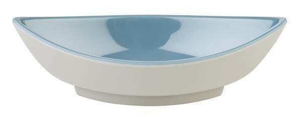 APS melamine Mini bowl 12,5 x 5,5 x 4(h) cm grijs blauw