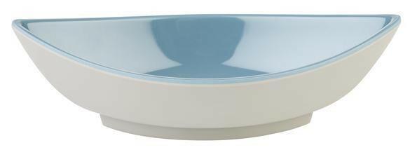 APS melamine Mini bowl 14 x 6,5 x 4(h) cm grijs/blauw