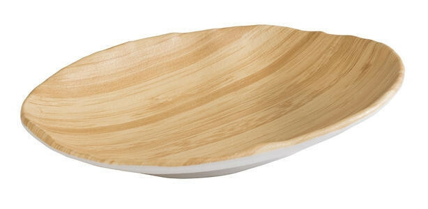 APS melamine Bamboo bowl 24 x 17 x 3,5(h) cm