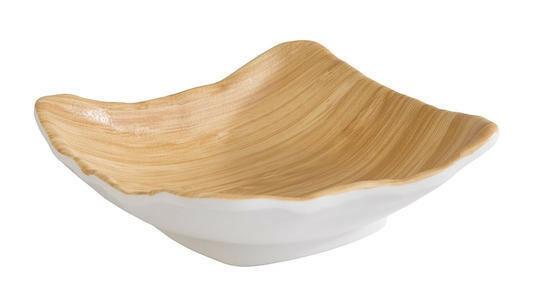 APS melamine Bamboo bowl 18 x 17,5 x 5,5(h) cm