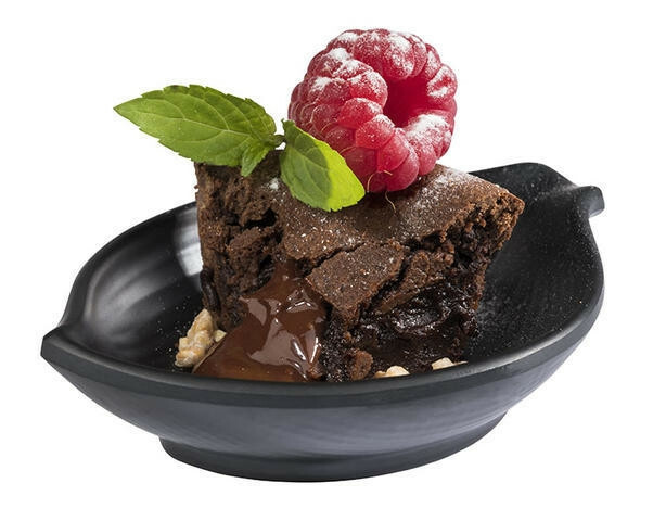 APS melamine Mini bowl 10,5 x 7,5 x 2,5(h) cm zwart