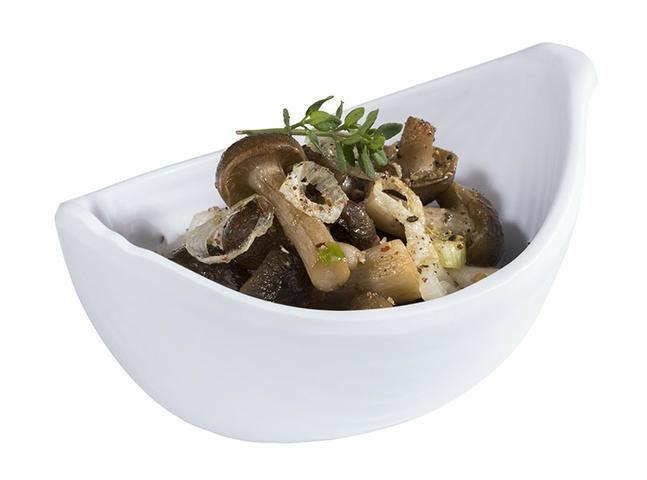 APS melamine Mini bowl 10,5 x 6,5 x 4,5(h) cm wit