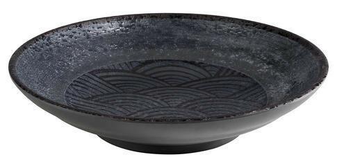APS melamine Dark Wave bowl Ø 22,5 x 5(h) cm