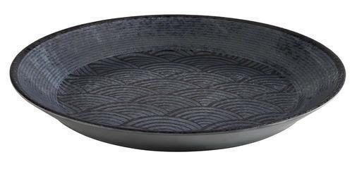 APS melamine Dark Wave bowl Ø 32 x 3,5(h) cm