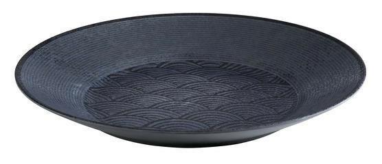 APS melamine Dark Wave bowl Ø 40,5 x 5,5(h) cm