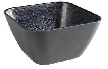APS melamine Dark Wave bowl 18 x 18 x 10(h) cm