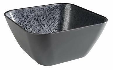 APS melamine Dark Wave bowl 23 x 23 x 11,5(h) cm