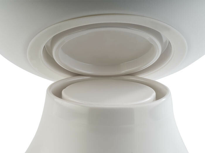 APS melamine Frida Lock bowl 21,5 x 8,5(h) cm wit