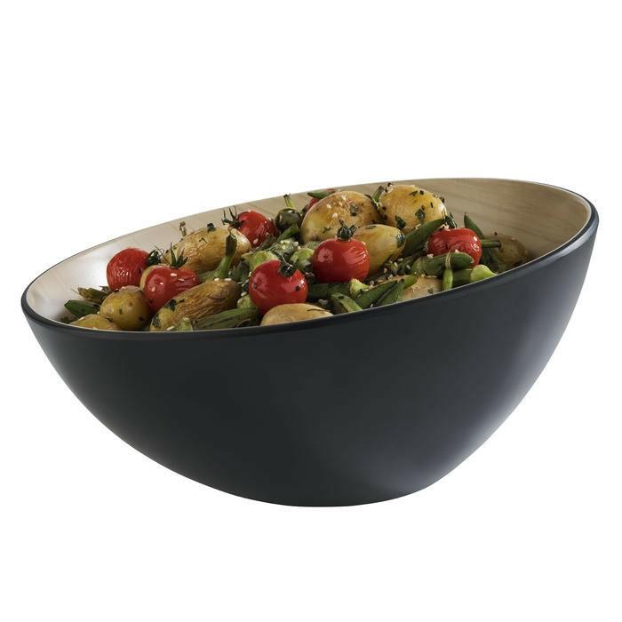 APS melamine Frida Lock bowl 28,5 x 14(h) cm zwart