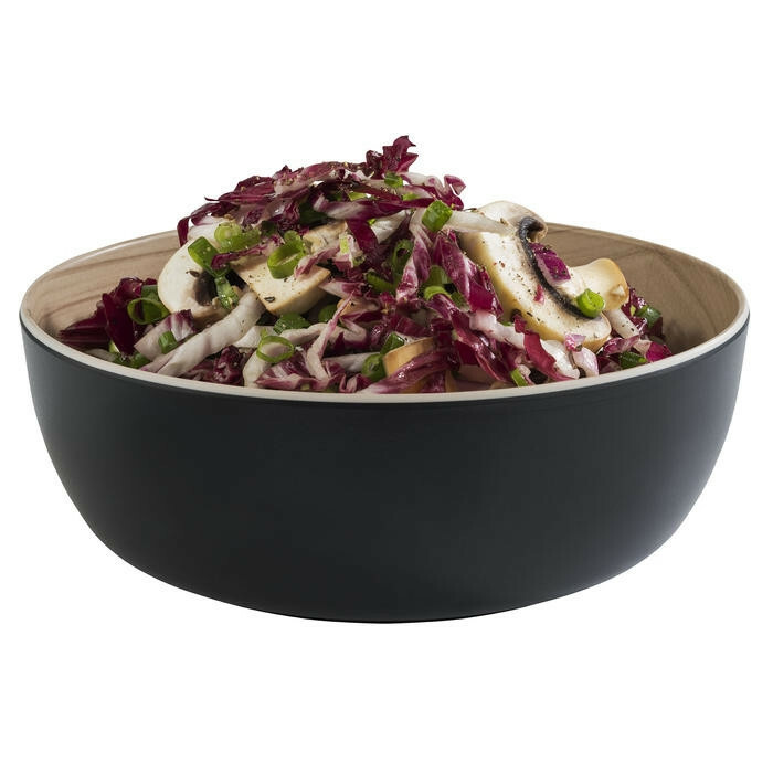 APS melamine Frida bowl 21,5 x 7,5(h) cm zwart