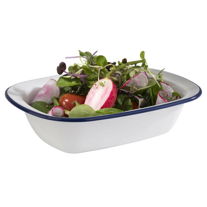 APS melamine Enamel Look bowl 15,5 x 11,5 x 3,5(h) cm