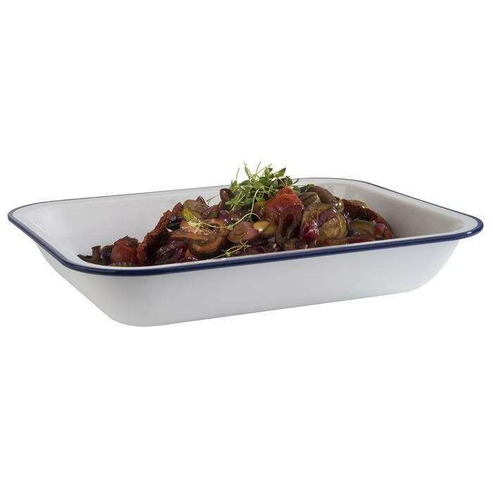 APS melamine Enamel Look bowl 29 x 23,5 x 5(h) cm