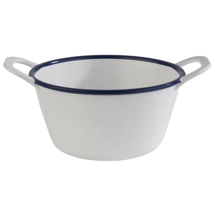 APS melamine Enamel Look bowl 15 x 11,5 x 6,5(h) cm
