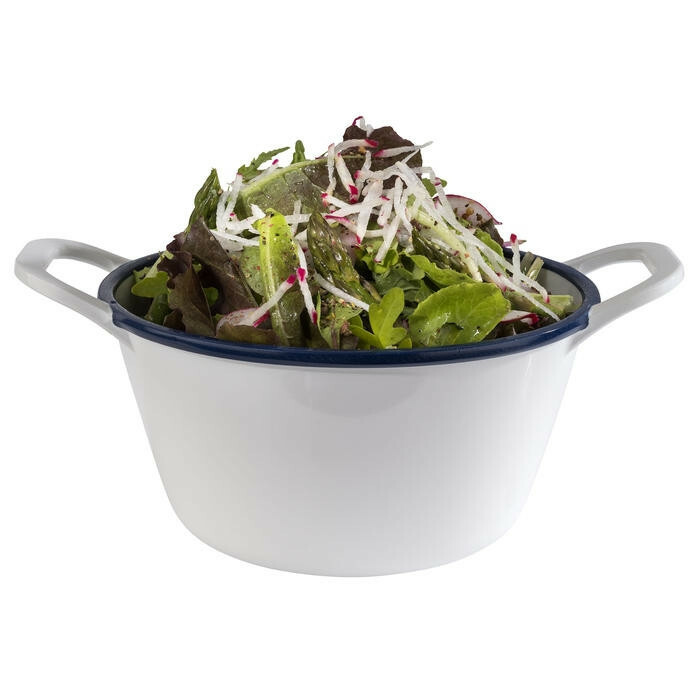 APS melamine Enamel Look bowl 21,5 x 16,5 x 6,5(h) cm