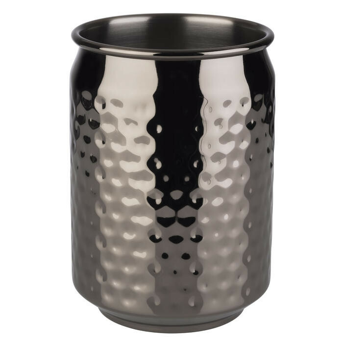 mug Cool edelstaal gunmetal 7,5 x 10(h) cm