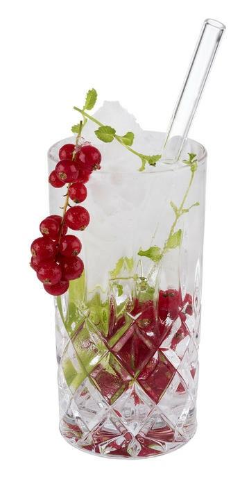 cocktail rietjes glas Ø 1 x 21 cm DOOS 7
