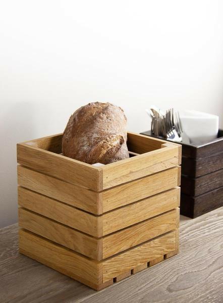 Oak linoil buffet box 20 x 20 x 20(h) cm