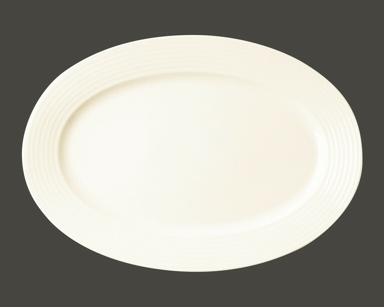 RAK Rondo bord plat ovaal 32 x 22 cm