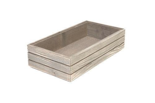 Driftwood 1/3 GN box high stackable 32,5 x 17,6 x 8(h) cm