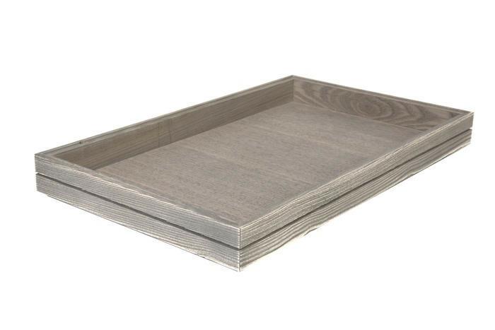 Driftwood 1/1 GN box medium stackable 53 x 32,5 x 4(h) cm