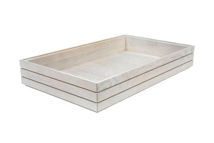 Ash 1/1 GN box high stackable 53 x 32,5 x 8(h) cm