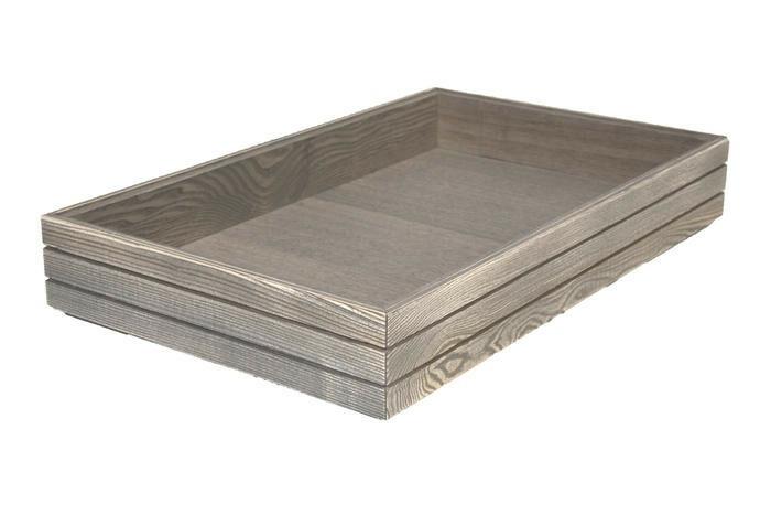 Driftwood 1/1 GN box high stackable 53 x 32,5 x 8(h) cm