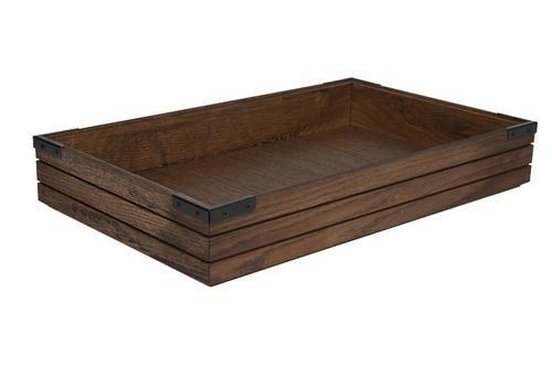 Chestnut 1/1 GN box high stackable 53 x 32,5 x 8(h) cm