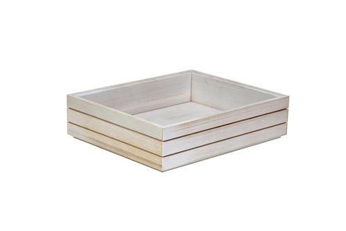 Ash 1/2 GN box high stackable 32,5 x 26,5 x 8(h) cm