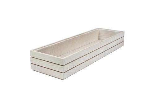 Ash 2/4 GN box high stackable 53 x 16,2 x 6,5(h) cm