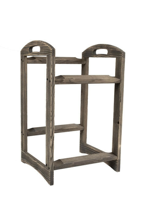 Driftwood 2 level stand small - excl. trays 29 x 43 x 57,4(h) cm