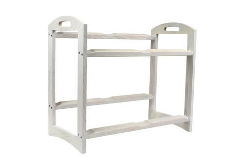 Ash 2 level stand large - excl. trays 56,6 x 29,5 x 49,5(h) cm