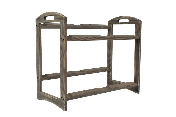 Driftwood 2 level stand large - excl. trays 56,6 x 29,5 x 49,5(h) cm