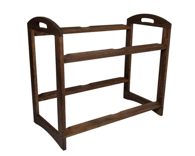 Chestnut 2 level stand large - excl. trays 56,6 x 29,5 x 49,5(h) cm