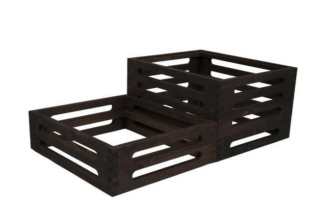 Black display set 1/2 GN 3-delig 60 x 36 x 19,7(h) cm