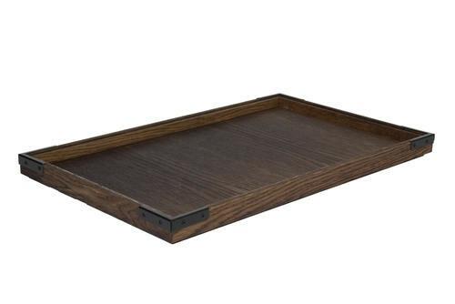 Chestnut 1/1 GN box low stackable 53 x 32,5 x 2(h) cm