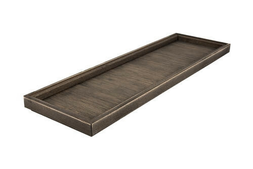Driftwood 2/4 GN box low stackable 53 x 16,2 x 2(h) cm