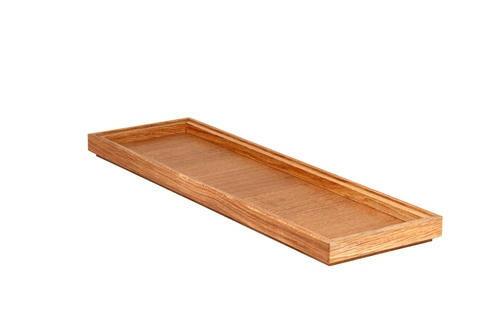 Oak linoil 2/4 GN box low stackable 53 x 16,2 x 2(h) cm