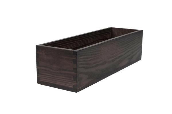 Black riser box 38 x 12 x 9,8(h) cm