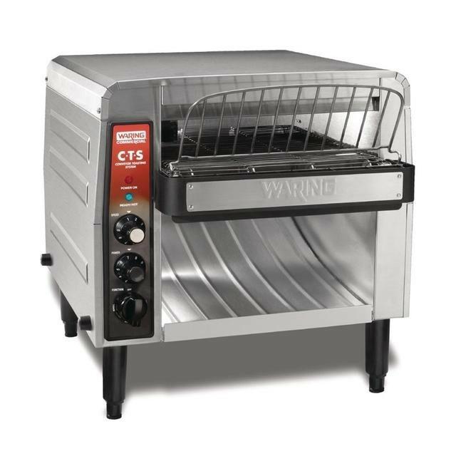Waring conveyor toaster CTS1000K dubbele doorvoer 1000 snee per uur