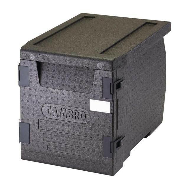 Cambro Cam Gobox thermobox voorlader, voor 3 x GN 1/1 bak diep 10 cm