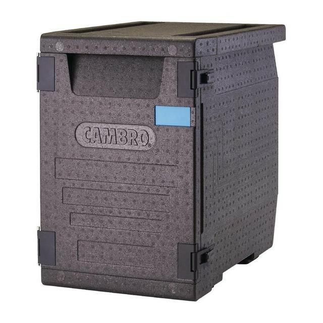 Cambro Cam Gobox thermobox voorlader, voor 4 x GN 1/1 bak diep 10 cm