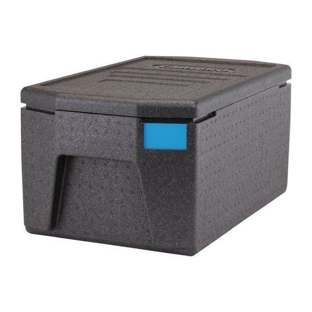 Cambro Cam Gobox thermobox bovenlader voor 1 x GN 1/1 bak diep 20 cm, grote handvaten