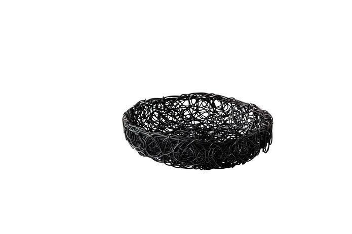 broodmand metaal Elements zwart Ø 16 x 5(h) cm