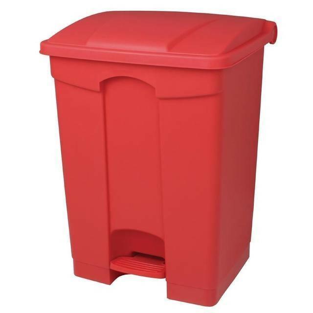Jantex pedaalemmer 65 Ltr rood