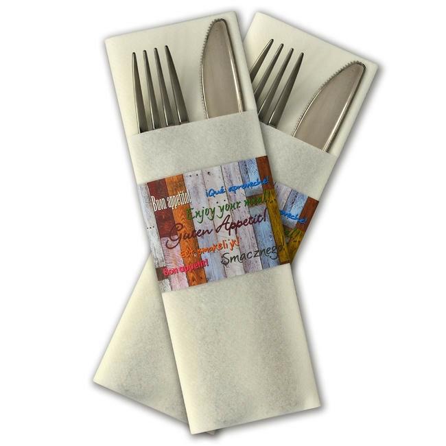 bestekservet GastroSleeve full color 108.000 stuks