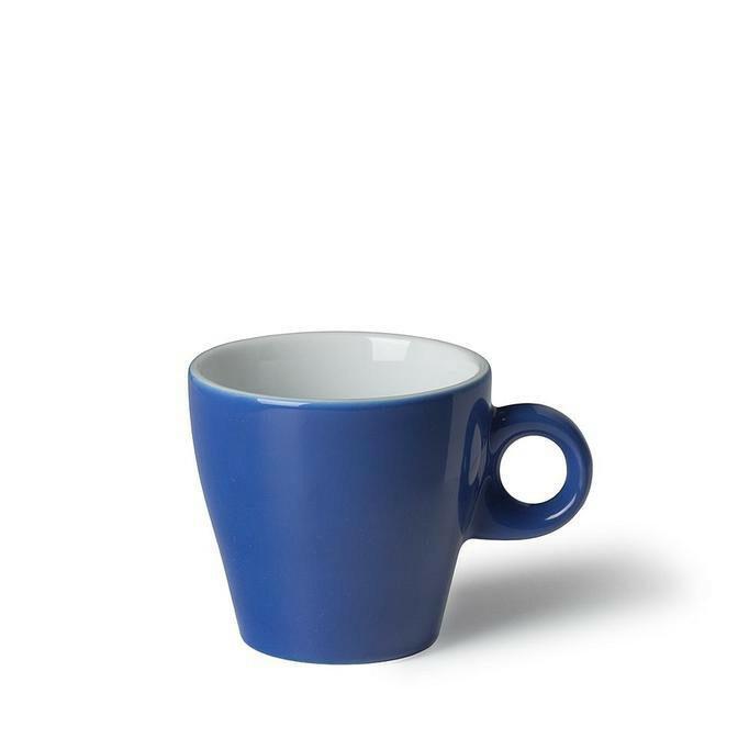 Langenthal Gino koffiekop 18 cl laag donkerblauw